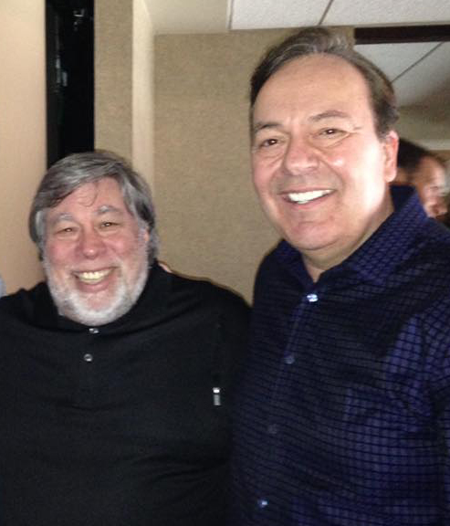 Joe and Steve Wozniak