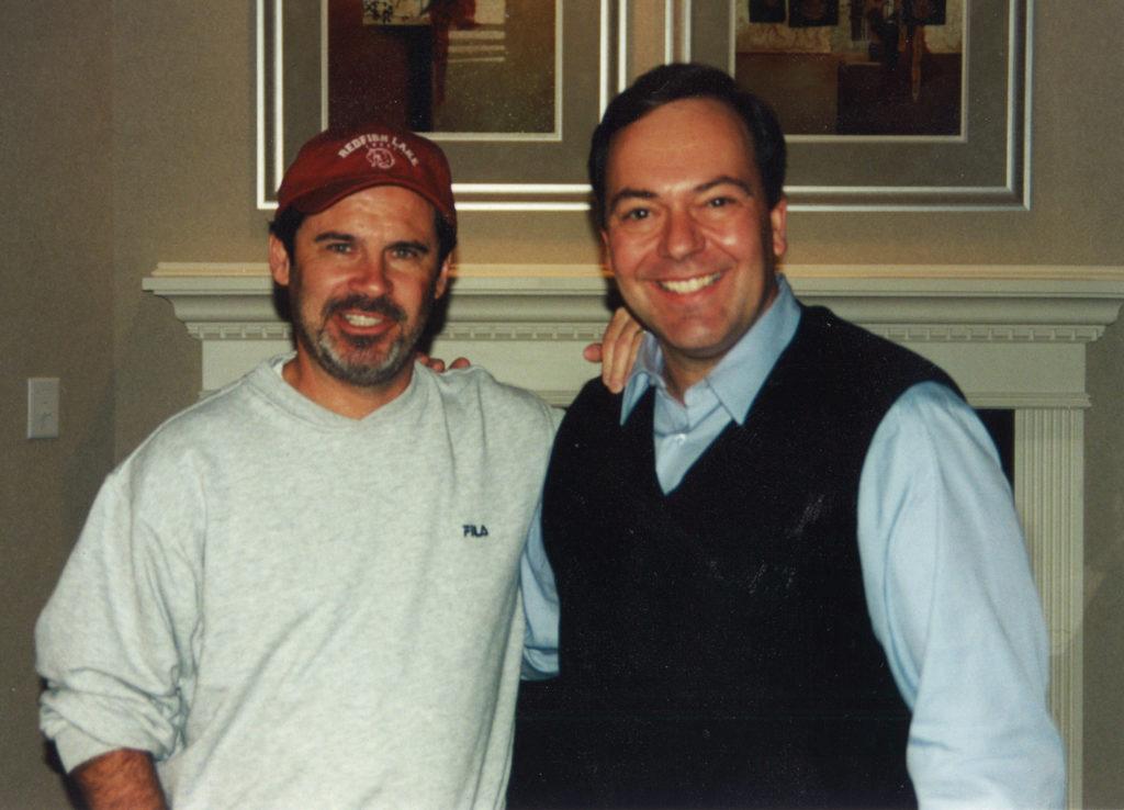 Joe and Dennis Miller