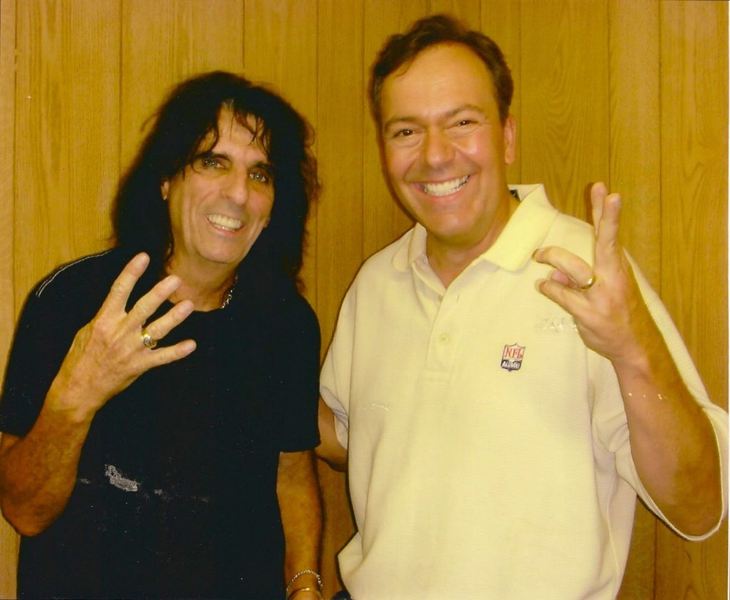Joe and Alice Cooper
