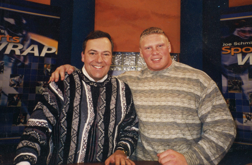 Joe and Brock Lesnar